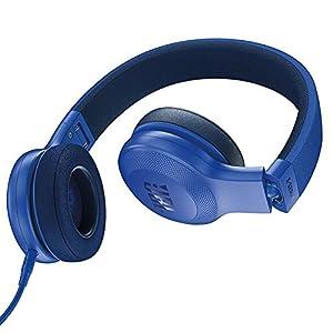 JBL E35 On Ear Signature Headphones with Mic (Blue)