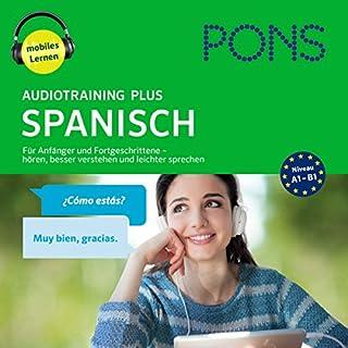 PONS Audiotraining Plus Spanisch Titelbild