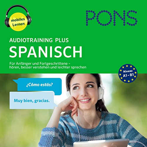 PONS Audiotraining Plus Spanisch audiobook cover art