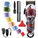 BESTBOMG Professional Electric Hair Clippers for Men Rechargeable Cordless Hair Trimmer Cutting Kit