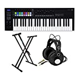 BUNDLE INCLUDES: Novation Launchkey MK3 49-Key USB MIDI Ableton Keyboard Controller, TX-100 Closed-Back Studio Monitor Headphones, and Adjustable Double X Keyboard Stand VARIOUS MODES: Eight Scale modes guide you into new musical territory, by transp...