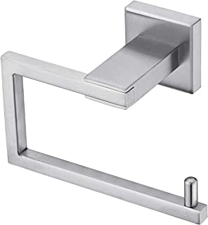 NANA KLXHOME Bathroom Lavatory Toilet Paper Holder SUS 304 Stainless Steel Toilet Tissue Roll Holder Wall Mounted Paper To...
