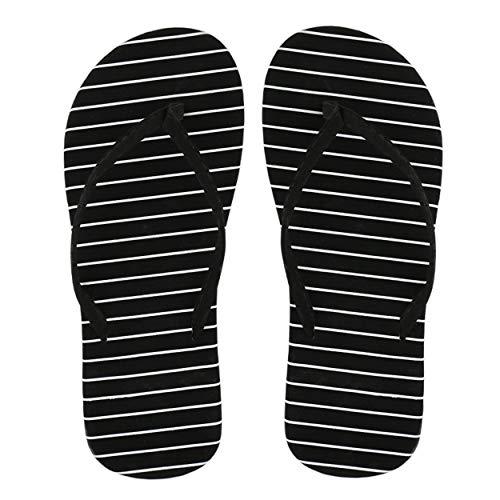 1 par Mujeres Adulto Casual Verano Moda Leopardo Playa Chanclas Tanga Sandalias planas Zapatilla Niñas Zapatos Tacón Placa