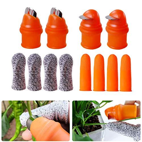 YBB 12 Pcs Gardening Silicone Thumb…