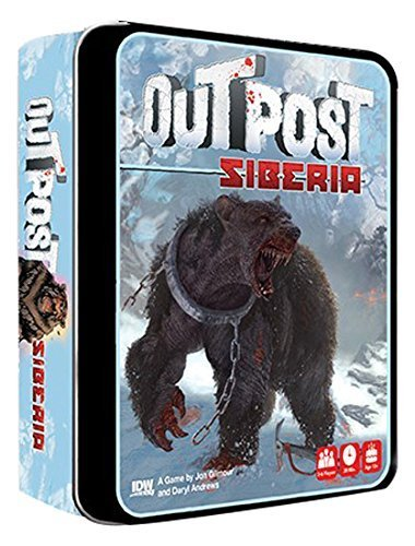 Outpost Siberia Card Game