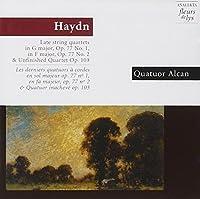 Haydn: Late String Qrts/etc.