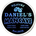ADVPRO Daniel's Man Cave Bar & Date Custom Personalized Name & Date Neon Sign st4-x0012-tm