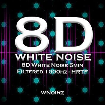 8D White Noise 5min Filtered 1000hz - HRTF (feat. Mind Reset 439)
