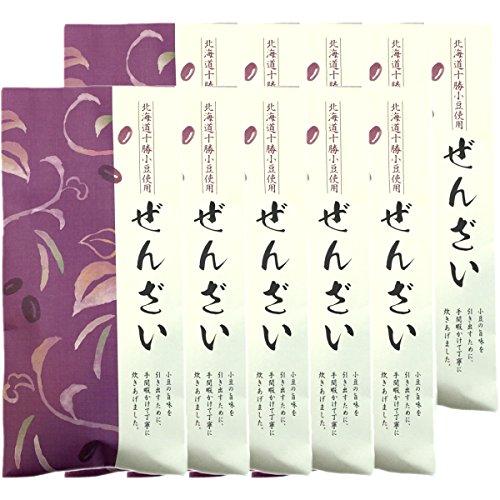 【北海道十勝小豆100%】ぜんざい 国産 180g ×10袋セット 巣鴨のお茶屋さん 山年園