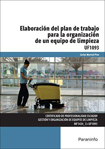 UF1093 Elaboración del Plan de Trabajo para la Organizació