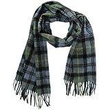 Lona Scott Tartanista - Bufandas de tartán escocés - 100% lana de cordero - 152 x 30 cm (60' x 12') - Campbell
