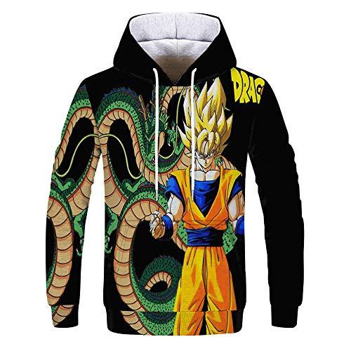 Dragon Ball Z Goku 3D Sudadera Con Capucha Hombre Off White Sudaderas 3D Sudaderas Con...