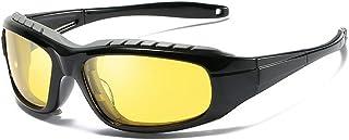 GLJJQMY Sport Polarized Sunglasses Windproof Sunglasses Sunglasses (Color : Yellow)