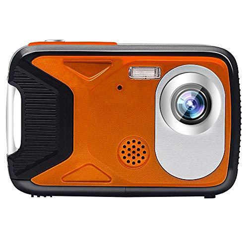 DJG Unterwasserkamera wasserdichte Digitalkamera Full HD 1080P Für Schnorchel Wasserdichten Punkt Schießt Digitalkamera Action Cam,Orange