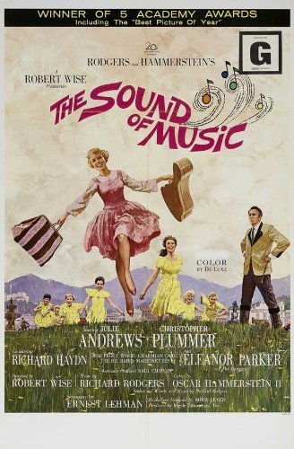 The Sound of Music POSTER Movie (27 x 40 Inches - 69cm x 102cm) (1965) (Style B) by Decorative Wall Poster