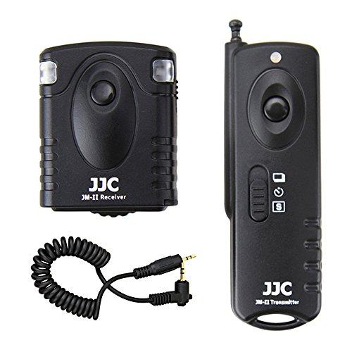 JJC RF Wireless Shutter Remote Control Compatible for Canon Rebel T8i T7 T7i T6 T6i T5i SL3 SL2 EOS R5 R6 R RP 90D 80D 77D 70D Pentax K-1 Mark II K-3 Mark II K-7 Replaces Canon RS-60E3 & Pentax CS-205