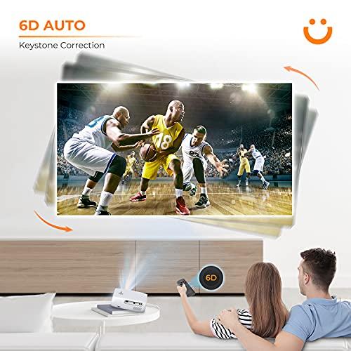 YABER Pro V7 9500L 5G WiFi Bluetooth Projector,