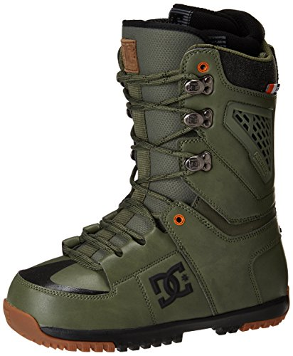DC Lynx Snowboard Boots, Military Green, Size 9.5