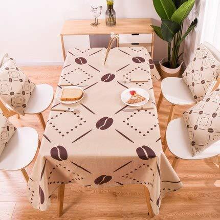 XXDD Mantel geométrico de Plantas Tropicales, Mantel de Lino de algodón, Mantel Rectangular, Mantel para el hogar A12, 135x160cm