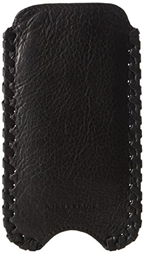 Liebeskind Berlin MobileI6 vintage/woven veg Damen Handyhülle 16 x 9 cm, Schwarz (black 9999)