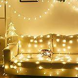 LED Estrellas de Luces 10M 100 Luces de Hadas Con 8 Modos Control Remoto Luces Cortina Para Boda Fiesta de Navidad, Decorativa Jardín Ect