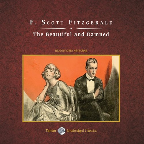 The Beautiful and Damned audiobook cover art