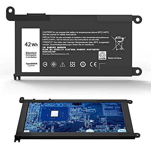 WDX0R - Batería para portátil Dell Inspiron 15 5565 5567 5568 5578 7560 7570 7579 7569 13 5368 5378 7368 7378 17 5765 5767 5770 Serie;fit del. l 3CRH3 T2JX4 FC92N CYMGM Portátil