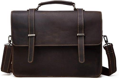 Briefcase Home Aktentasche Vintage Leder Herren Tasche Business Laptop Tasche Herren Leder Tasche Umh etasche