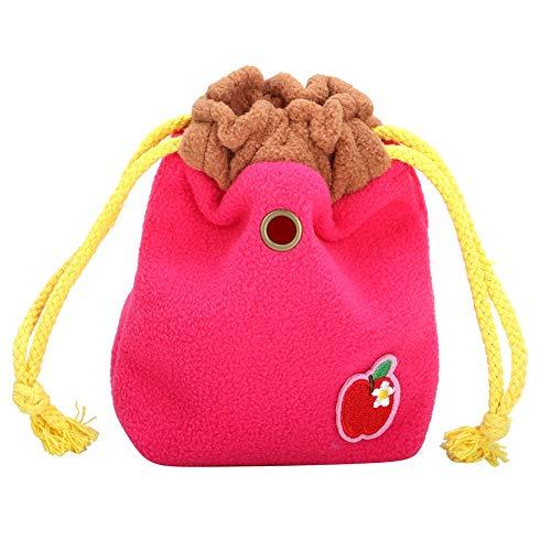 Hamster draagtas, draagbare flanellen doek Kleine huisdierentas Handtas Warme uitgaande tas voor egel Muis Rat Eekhoorn Suikereekhoorn