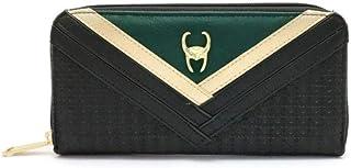 Marvel Avengers Loungefly Loki Thor Kunstleder Mini Rucksack Geldbörse Taschen