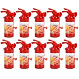 PUCHA Pistola de Agua de Juguete niños, 10 Piezas de Color Aleatorio para niños, Mini Pistola de Agua en Forma de extintor de Incendios, Juguetes de plástico para la Playa de Agua al Aire Libre