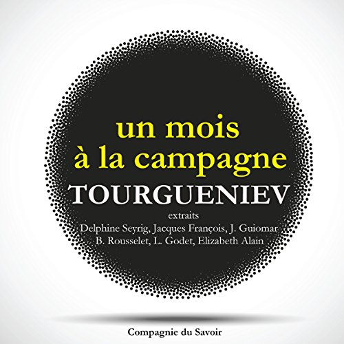 Un mois à la campagne  By  cover art