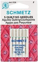 Euro-Notions 73078 Quilt Machine Needles-Size 11/75 5/Pkg