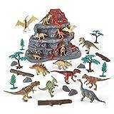 Animal Zone 30Pc Dino Set with Mountain