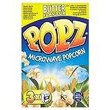 Popz Microonde Burro Popcorn 3 X 90g