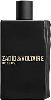 Zadig et Voltaire Just Rock For Him Pour Lui Eau De Toilette 3.3 Ounce 100 Milliliter