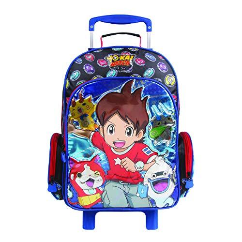 Mochila Escolar G com Rodinhas, Yo-kai Watch, DMW Bags, 11262