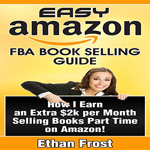 Easy Amazon FBA Book Selling Guide audiobook cover art