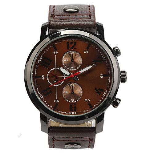Uhren für Frauen Herren Sport Quarzuhren Herrenuhren Leder Armbanduhren 20. April