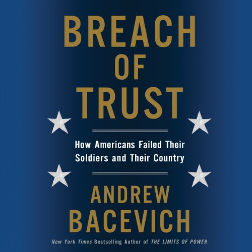 Breach of Trust audiobook cover art