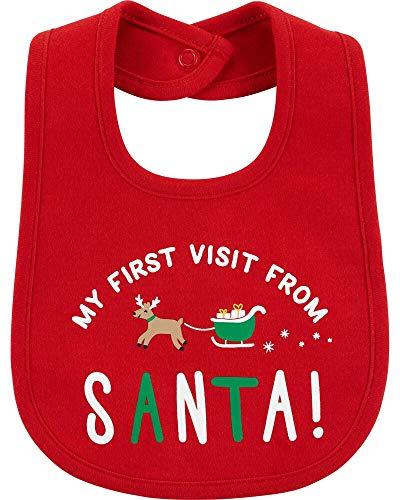 Carter's Christmas Unisex Teething Bib
