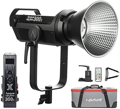 Aputure LS SALENEW very popular! 300X Led Video Light 2700-6500k Color 350W Bi Max 64% OFF 24300lu
