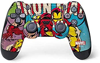 Skinit Decal Gaming Skin for PS4 Controller - Officially Licensed Marvel/Disney Marvel Comics Ironman Design