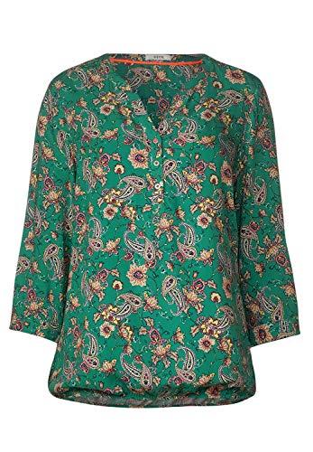 Cecil Damen TOS Paisley Print Blouse Bluse, Lucky Clover Green, Medium