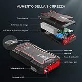 Zoom IMG-1 utrai avviatore batteria auto 12v