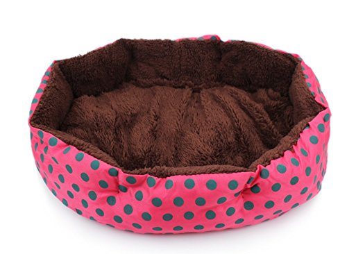 Treestar Hundezwinger, achteckig, abnehmbar und waschbar, Hundekissen, Hundebett für Hunde, Katzen, Matratze