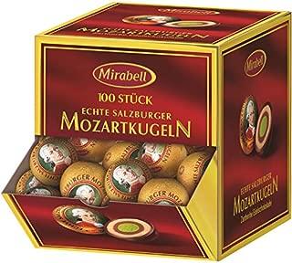 Mozart Chocolate Balls 100 Pieces, 1700 Grams, Mirabell Salzburg