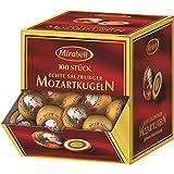 Salzburger Mirabell Mozartkugeln 100 Stück In der praktischen Aufsteller Box Insgesamt 1,7 KG Von Mirabell Salzburg