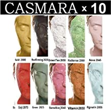 10X CASMARA Mask Premium Package (10 sets) + 1 Mixing Spatula and 1 C-Booster Skincare Sample