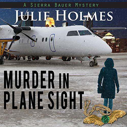 Murder in Plane Sight audiobook cover art
